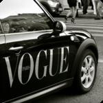 Аватар Авто с надписью 'Vogue'