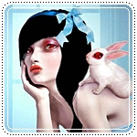 Аватар Девушка и кролик (© Krista Zarubin), добавлено: 14.04.2011 19:11