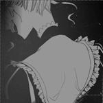 Аватар Beatrice / Беатриче - «Золотая ведьма Роккэна», она же Вечная Ведьма, из аниме Когда плачут чайки / Umineko no Naku Koro ni, хохочущая во тьме, вид со спины (© D.Phantom), добавлено: 17.04.2011 01:07