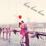 Аватар Девушка с парнем целуются (Love love love)