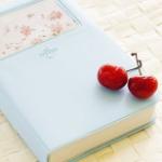 Аватар Вишни на голубой книге