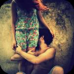 Аватар Парень обнял девушку за ноги