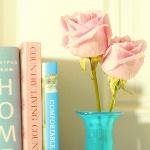 Аватар Две розы в вазе и книги