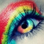 Аватар Радужный макияж