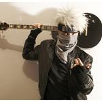 Аватар Какаши с гитарой (косплей)