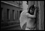 Аватар Грустная девушка-ангел