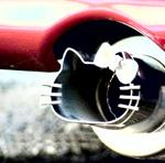 Аватар Выхлопная труба в виде Hello Kitty