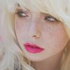 Аватар Девушка с ярко-розовыми губами