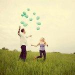 Аватар Парень и девушка с воздушными шарами
