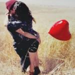 Аватар Счастливая пара и воздушный шар в виде сердца