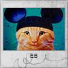 Аватар Кот в шапочке микки-мауса (EB)