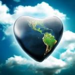 Аватар Земля в форме сердца