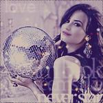 Аватар Актриса Деми Ловато с диско-шаром в руках (love)