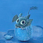 Аватар Динозаврик вылупляется из яйца