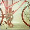 99px.ru аватар Девушка на шпильках рядом стоит  с велосипедом