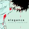 Аватар У Эля из аниме 'Death Note / Тетрадь Смерти' из носа течёт кровь (elegance)