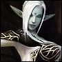 Аватар Темная эльфика Шелен Элдер в демоне из игры Lineage 2 / Лайнэйдж 2 / Линейка 2