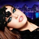 Аватар Эмили ДиДонато в чёрной одежде на фоне ночного Нью-Йорка
