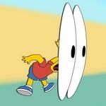 Аватар Удивленный взгляд Барта (Мультфильм *Симпсоны*)