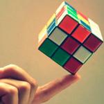 99px.ru аватар Кубик Рубика на пальце