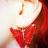Аватар Сережка - красная бабочка