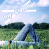 Аватар Девушка лежит на траве (my summer)