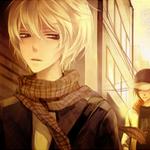 99px.ru аватар За парнем-блондином следит другой парень в кепке