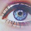 Аватар Глаз девушки накрашен подводкой