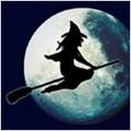99px.ru аватар Ведьма на метле в полнолуние