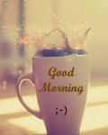 Аватар Кружка кофе с надписью Good Morning