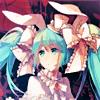 Аватар Hatsune Miku / Хатсуне Мику из 'Vocaloid / Вокалоид '