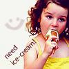 Аватар Девочка с мороженым (Need ice-cream! / Нуждаюсь в мороженом!)