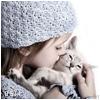 Аватар Девочка с котенком