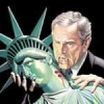 Аватар Статуе Свободы вампир откусывает голову