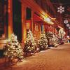 99px.ru аватар Рождественские ели стоят на улице