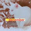 Аватар  Декабрь - кот сидит на снегу (December)