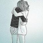Аватар Парень с девушкой обнимаются