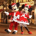 99px.ru аватар Микки Маус и его подружка переоделись в Деда Мороза и Снегурочку