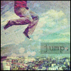 99px.ru аватар Jump (Парень прыгает на фоне города)