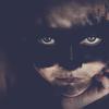 Аватар Девочка с черной полосой на глазах