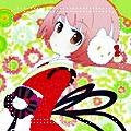Аватар Вокалоид Некомура Ироха в наушниках Hello Kitty