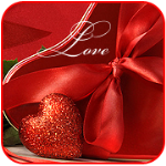 99px.ru аватар Сердечко у подарка  (Love / Любовь)
