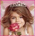 Аватар Маленькая принцесса с розой