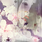 Аватар Девушка с весенними цветами