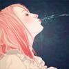 Аватар Девушка выплевывает воду