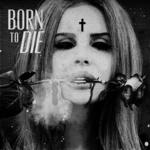 Аватар Lana Del Rey / Лана Дель Рей с розой во рту и крестом на лбу (Born to Die)