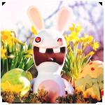 Аватар Пасхальный заяц и яйца