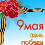 Аватар Георгиевская ленточка и гвоздики 99 мая День Победы)