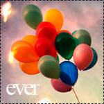 Аватар Разноцветные воздушные шарики на фоне неба (ever)