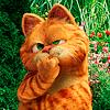 Аватар Кот Гарфилд / Garfield с задумчивым видом